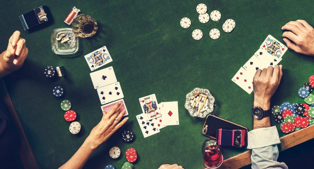 Poker Gambling Table